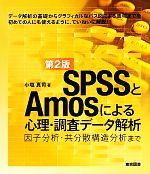 SPSSとAmosによる心理・調査データ解析 因子分析・共分散構造分析まで(単行本)