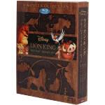 ライオン・キング ブルーレイ・トリロジーセット(Blu-ray Disc)(期間限定生産版)(3枚組、アウターケース付)(BLU-RAY DISC)(DVD)