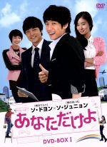 あなただけよ DVD-BOXI(通常)(DVD)