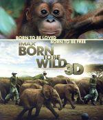 IMAX:Born To Be Wild 3D-野生に生きる-(Blu-ray Disc)(BLU-RAY DISC)(DVD)