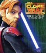 スター・ウォーズ:クローン・ウォーズ<フィフス・シーズン>コンプリート・ボックス(Blu-ray Disc)(三方背BOX、ブックレット付)(BLU-RAY DISC)(DVD)