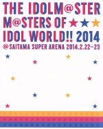 "THE IDOLM@STER M@STERS OF IDOL WORLD!! 2014""PERFECT BOX!""(完全初回生産限定)(Blu-ray Disc)(CD1枚、Blu-ray1枚、外箱、フォトブック付)(BLU-RAY DISC)(DVD)"