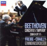 ベートーヴェン:ピアノ協奏曲第5番「皇帝」、ピアノ・ソナタ第32番(SHM-CD)(通常)(CDA)