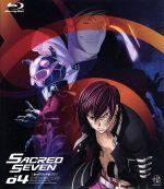 セイクリッドセブン 4 アニメイト限定豪華版(Blu-ray Disc)((MAP、キャラクターカード、イラストカード、解説書、CD付))(BLU-RAY DISC)(DVD)