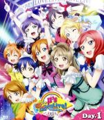 ラブライブ!μ's Go→Go! LoveLive! 2015~Dream Sensation!~Blu-ray Day1(Blu-ray Disc)(BLU-RAY DISC)(DVD)