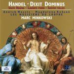 【輸入盤】Handel: Dixit Dominus . Salve Regina . Laudate pueri . Saevita tellus(通常)(輸入盤CD)