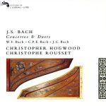 【輸入盤】Js.Wf.Cpe.Jc.Bach;Conc/Duet(通常)(輸入盤CD)