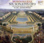 【輸入盤】Mondonville: Six Sonates Op. 3(通常)(輸入盤CD)