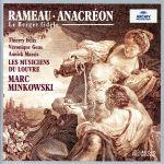 【輸入盤】Rameau: Anacreon - Le Berger fidele(通常)(輸入盤CD)