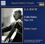 【輸入盤】Great Cellists Pablo Casals: Cello Suites 1 - 6(通常)(輸入盤CD)