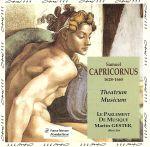 【輸入盤】SAMUEL CAPRICORNUS/ THEATRUM MUSICUM(通常)(輸入盤CD)