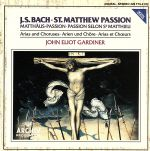 【輸入盤】St. Matthew's Passion Excerpts(通常)(輸入盤CD)