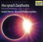 【輸入盤】Richard Strauss : Also Sprach Zarathustra / Previn, Vienna PO(通常)(輸入盤CD)