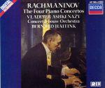 【輸入盤】RACHMANINOFF:THE 4 PIANO CONTERTOS(通常)(輸入盤CD)