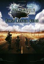 PS4/Xbox One FINAL FANTASY XV FIRST MASTER GUIDE スクウェア・エニックス公式攻略本(Vジャンプブックス)(単行本)