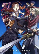 TVアニメ「ガン×ソード」Blu-ray BOX(初回完全限定版)(Blu-ray Disc)(三方背BOX、イラストブック、インタビューブック、ワールドガイド、原画集付)(BLU-RAY DISC)(DVD)