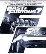 ワイルド・スピード SKY MISSION(4K ULTRA HD+Blu-ray Disc)(4K ULTRA HD)(DVD)