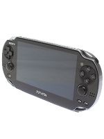 【箱説なし】PlayStationVita Wi-Fiモデル:クリスタル・ブラック(PCH1000ZA01)(USBケーブル、ACアダプター、電源コード付)(ゲーム)