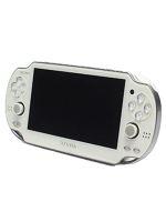 【箱説なし】PlayStationVita Wi-Fiモデル:クリスタル・ホワイト(PCH1000ZA02)(USBケーブル、ACアダプター、電源コード付)(ゲーム)