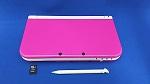【箱説なし】Newニンテンドー3DS LL ピンク×ホワイト(タッチペン1本(本体付属)、SDメモリーカード(4GB)付)(ゲーム)