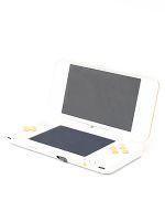 【箱説なし】Newニンテンドー2DS LL:ホワイト×オレンジ(JANSOAAA)(タッチペン1本(本体付属)、SDメモリーカード(4GB)付)(ゲーム)