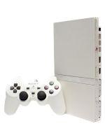 【箱説なし】PlayStation2:セラミック・ホワイト(SCPH75000CW)(アナログコントローラ、AVケーブル、ACアダプター、電源コード付)(ゲーム)