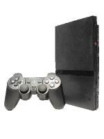【箱説なし】PlayStation2:チャコールブラック(SCPH77000CB)(アナログコントローラ、AVケーブル、ACアダプター、電源コード付)(ゲーム)