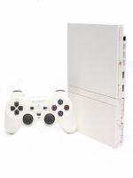 【箱説なし】PlayStation2:セラミックホワイト(SCPH77000CW)(アナログコントローラ、AVケーブル、ACアダプター、電源コード付)(ゲーム)