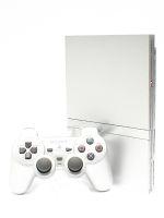 【箱説なし】PlayStation2:サテン・シルバー(SCPH79000SS)(アナログコントローラ、AVケーブル、ACアダプター、電源コード付)(ゲーム)
