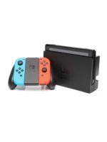 【箱説なし】Nintendo Switch Joy-Con(L) ネオンブルー/(R) ネオンレッド(HACSKABAA)(コントローラー×2、ACアダプター、ドック、グリップ、HDMIケーブル付)(ゲーム)