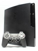 【箱説なし】PlayStation3:チャコール・ブラック(160GB)(CECH2500A)(ワイヤレスコントローラ、電源コード、AVケーブル、USBケーブル付)(ゲーム)