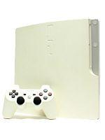 【箱説なし】PlayStation3:クラシック・ホワイト(160GB)(CECH2500ALW)(ワイヤレスコントローラ、電源コード、AVケーブル、USBケーブル付)(ゲーム)
