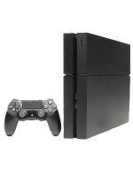 【箱説なし】PlayStation4:ジェット・ブラック(CUH1100AB01)(ワイヤレスコントローラ、電源コード、HDMIケーブル、USBケーブル付)(ゲーム)
