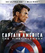 キャプテン・アメリカ/ザ・ファースト・アベンジャー 4K UHD(4K ULTRA HD+Blu-ray Disc)(4K ULTRA HD)(DVD)